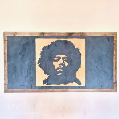 Guisplay Guitar Display Wall Mount Jimi Hendrix 11(watermarked)