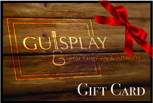 Guisplay Guitar Display case cabinet showcase ukuelele stand Gift Card